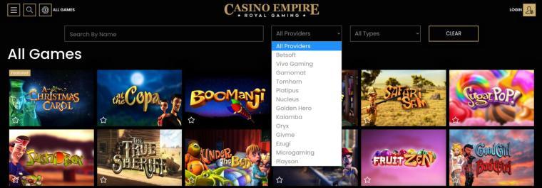 Casino Empire Software