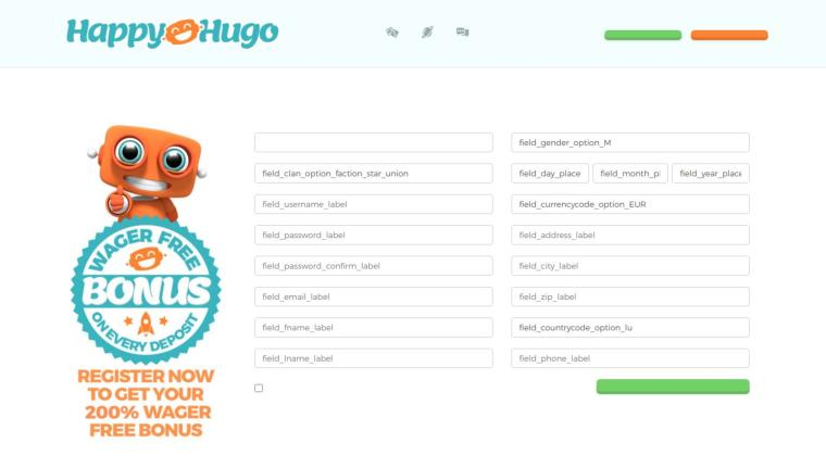 Hvorfor registrere sig på Happy Hugo